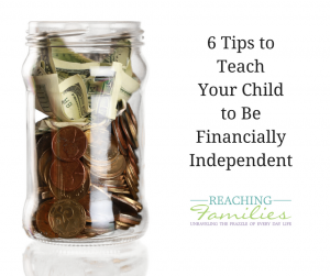 Tips to Teach Independence