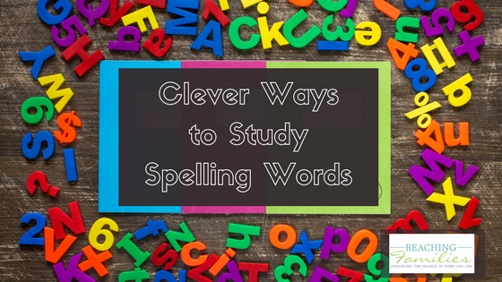 ways to study spelling words