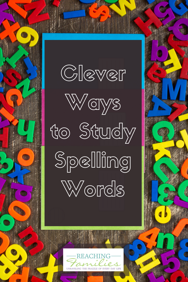 how to study for spelling tests