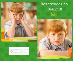 Homeschool is Behind