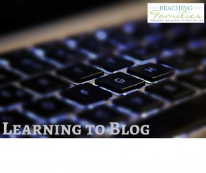 Learning to Blog