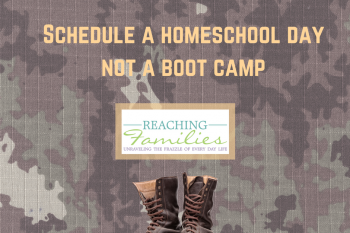 homeschool boot camp