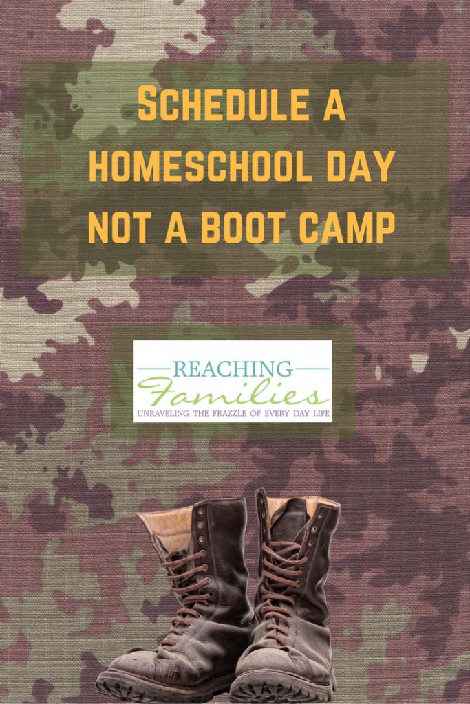 Homeschool Boot Camp