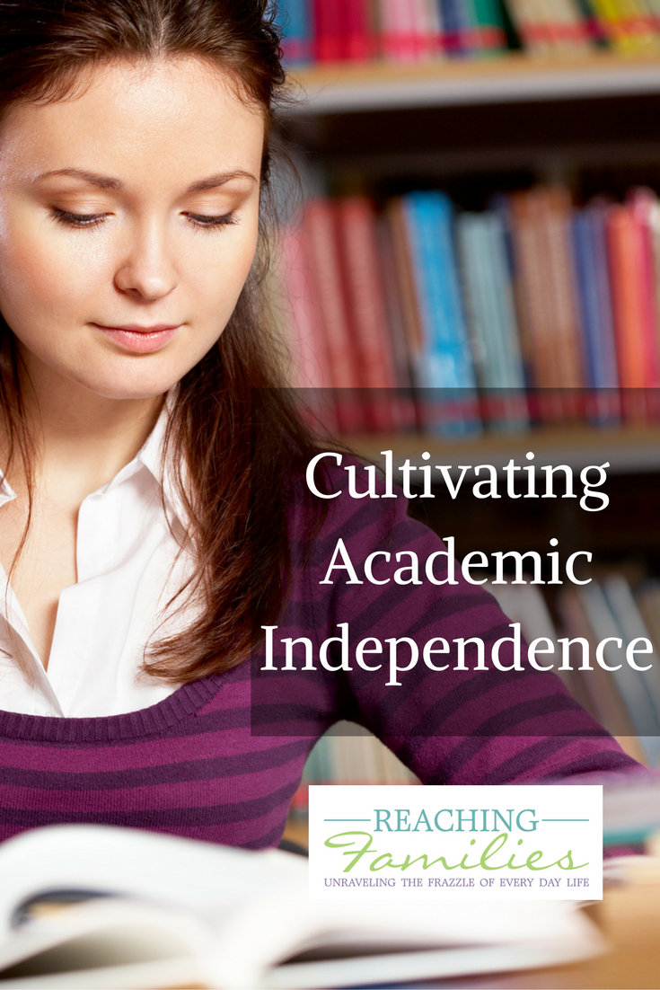 Homeschool academic independence