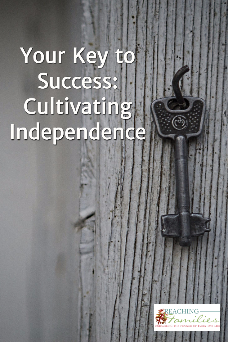 Independence Cultivated in Homeschool