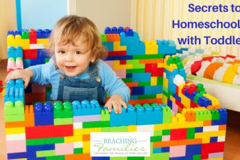 Homeschooling toddlers
