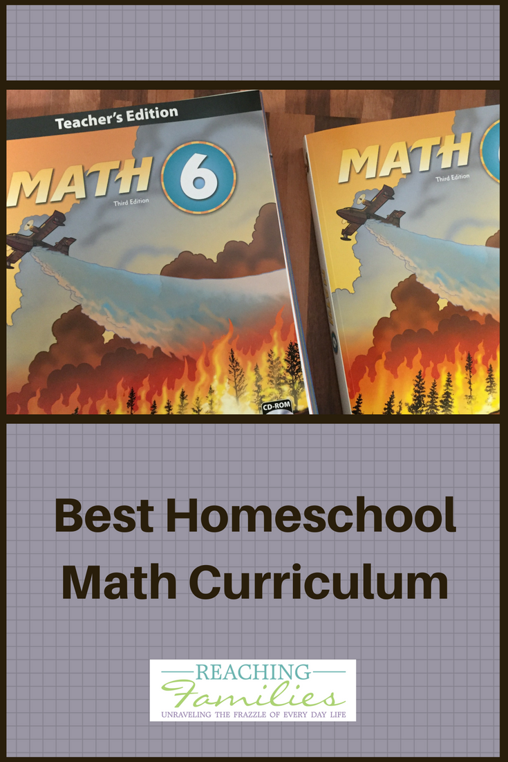 Math for homeschool