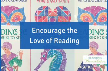 Love to read encourages