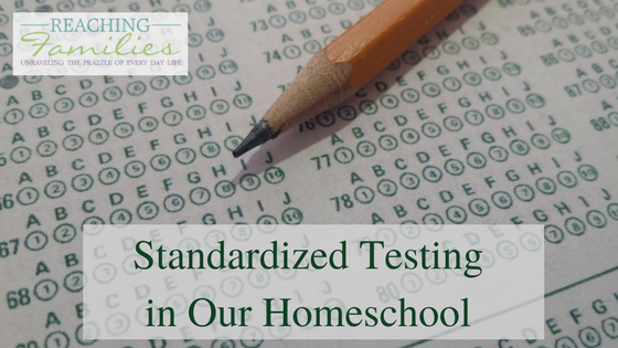 Standardized Testing yearly