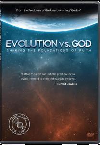 Evolution vs. God DVD