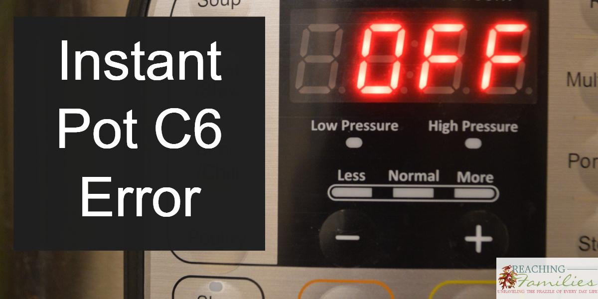 Instant Pot C6