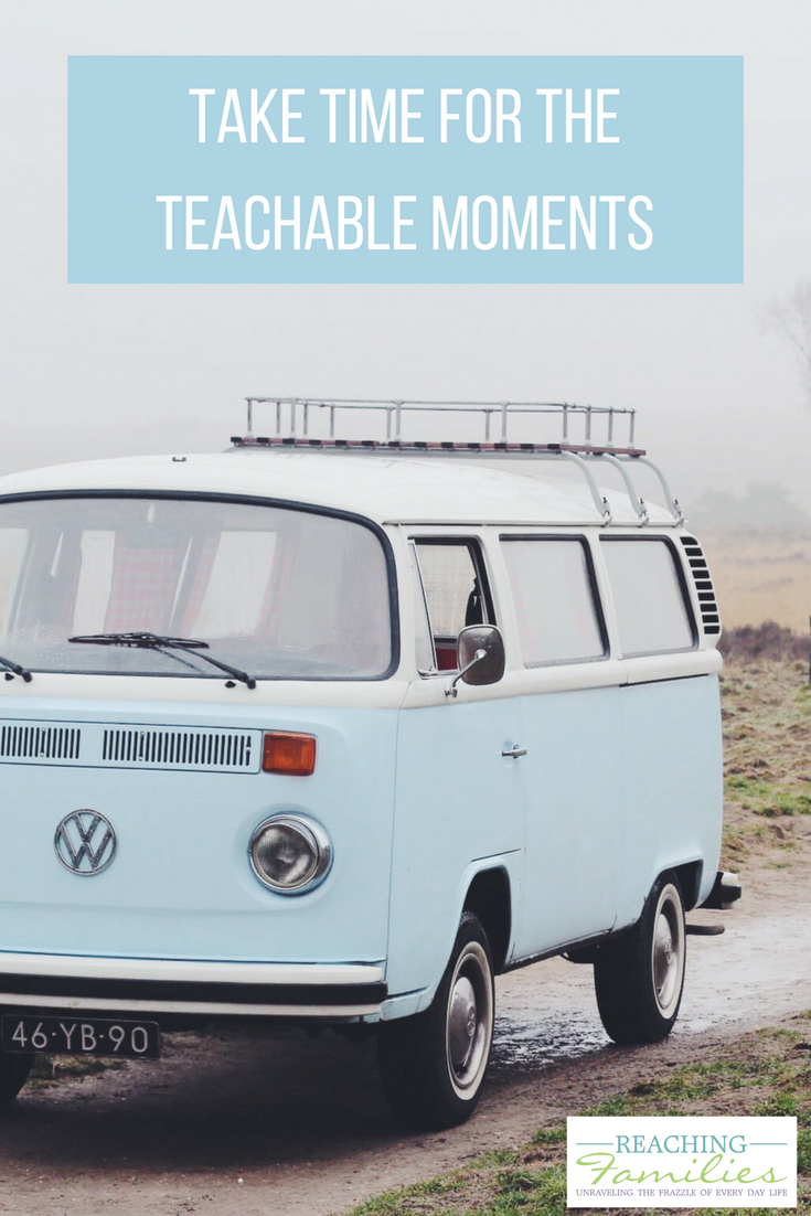 Moments to make teachable