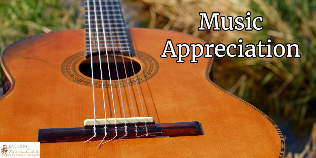 appreciating music